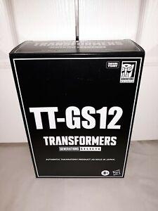 Soundblaster Soundwave TT-GS12 Transformers WFC Hasbropulse Takara NEW IN HAND