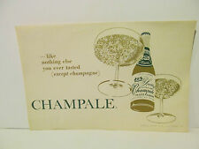 Vintage Champale Placemat Trenton ( 12 count ) Like nothing else you ever tasted