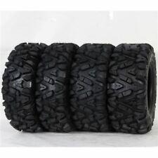 "25"" Tg Tyre Guider Atv/Utv Tires Complete Set (2) 25x8-12 (2) 25x10-12 Bighorn"