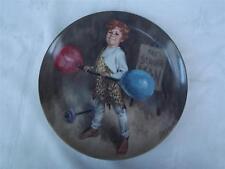 Jonny The Strongman - McClelland Childrens Circus Plate - Box + Cert - Knowles