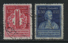 Italy 1949 Alessandro Volta--Attractive Science Topical (526-27) fine used