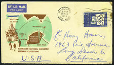 AUSTRALIA 1955 NATIONAL ARCTIC EXPEDITION COVER MELBOUR