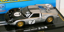 SCALEXTRIC C2917 FORD GT40 MK II WITH HEADLIGHTS NEW 1/32 SLOT CAR