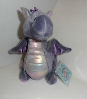 WEBKINZ Stormy Dragon Plush Mint Sealed Code NEW So Soft HM634 Purple Valentine