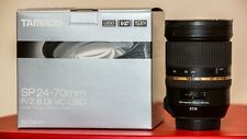 Tamron SP A007 24-70mm F/2.8 VC Di Lens, for Canon