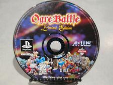 Ogre Battle Limited Edition Playstation 1 BROKEN