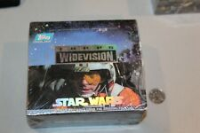 SEALED Star Wars Topps Widevision 1994 Box 24 packs 1977 HTF RARE A NEW HOPE #1