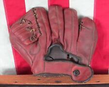 Vintage 1950s Sonnett Leather Baseball Glove Fielders Mitt Barney McCosky Model