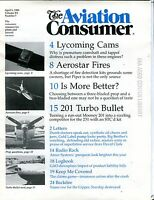 The Aviation Consumer Magazine April 1 1990 EX No ML FAA Library 102016jhe