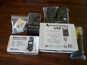 KESTREL 4000&4100 POCKET WEATHER TRACKER, INTERFACE USB