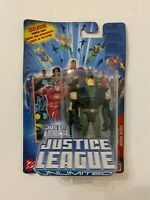 DC Justice League Unlimited (2004) GREEN ARROW Action Figure with Trading Card