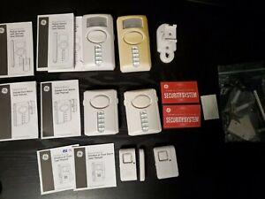 Lot 6 GE Personal Home Security Wireless Window/Door Alarm 56789 45117 51209