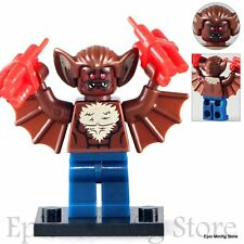 Custom Man-Bat Batman Movie 2017 Minifig fits with Lego pg146 UK Seller