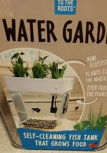 Back to the roots water garden hydroponics aquaponics ecosystem