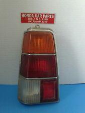 RARE VINTAGE 1980-1981-1982-1983 Honda Civic Wagon Tail Light Left side