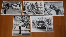 Vintage 1970's Back Up Girls BUG Grid Girls AHRA NHRA 8x10 Press Photo Lot Of 5