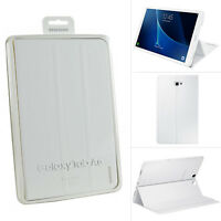 """Genuine Samsung Flip Book Case Cover Stand For Galaxy Tab A 10.1"""" Inch - White"""