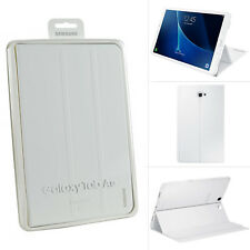 "Genuine Samsung Flip Book Case Cover Stand For Galaxy Tab A 10.1"" Inch - White"