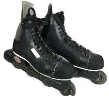 Bauer - Mens Size 12D Inline 200 Off Ice Roller Hockey Blades Skates