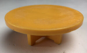 VINTAGE Fisher Price Little People YELLOW TABLE House Furniture 1970's