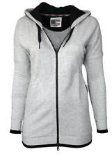 KANGAROOS Damen Kapuzenjacke Sweatshirt Jacke grau GR. 36 38 40 42 NEU
