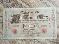 Germany 1000 mark 1903 banknote