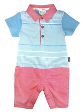 20e9cb1463db Ted Baker Baby Boys Romper All in One T Shirt Trousers DESIGNER 3-6 Months