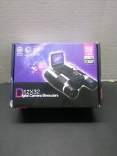 12x ZOOM, 1080p PUISSANT Digital 12x32 Video Recording Camera Binoculars
