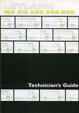 Austin Morris Leyland Sherpa Technicians Guide 1974-75 Original UK Brochure 3253