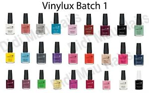 CND Vinylux Weekly Nail Polish Lacquer 15 ml / .5 oz / 0.5oz - Batch # 1