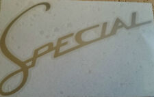 lambretta vespa special leg shield flyscreen scooter vinyl sticker decal  90mm