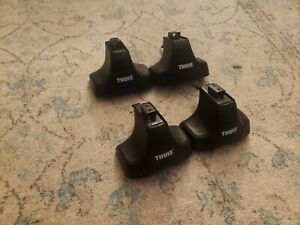 Thule Rapid Traverse Foot Pack 480R complete set of 4- excellent