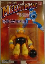 Mega Man Bombman Figure Throw Action Bandai Capcom 1995 (Mint On Card) MegaMan