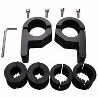 15X(2pcs Roof Bars LED Light Bracket Roll Bar Clamps Tube Clamp for Roll Ca1H1)