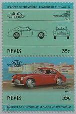 1948 Cisitalia Pininfarina COUPE coche Sellos (líderes del mundo / Auto 100)