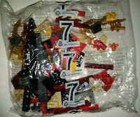 Lego 135149 Lego bag 7 red gold black bricks