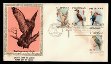DR WHO 1967 PHILIPPINES BIRDS FDC C173737