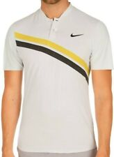 Roger Federer tennis Nike shirt BNP Paribas Indian Wells 2018 S White NEW W/Tag