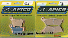 Brake Pads Front Rear KTM 125 150 250 300 350 450 SX SXF EXC EXCF 04-17 (181 368