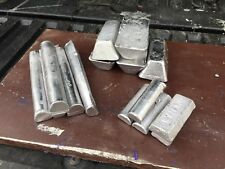 Casting Metal Alloy, 50 Lbs (Clean clip on wheel weights with type metal)