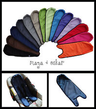 BABY CAR SEAT LINER PADDING PAD WATERPROOF CUSHION COVER HEAD SUPPORT WIPEABLE