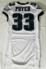 b2083ff941cb5b  33 Jordan Poyer Authentic Game Issued Eagles Nike Jersey