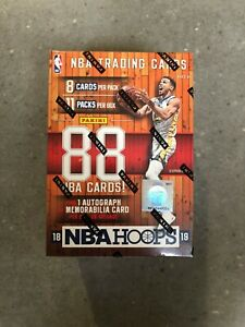 2018/19 Panini Hoops NBA Basketball 11-Pack Blaster Box Brand New Factory Sealed