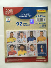 UPDATE SET PANINI RUSSIA 2018 96 IMAGES MISE A JOUR NEUF EMBALLE COUPE MONDE