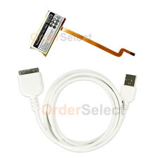 NEW Replacement Battery 616-0232+USB Cable for Apple iPod 7th Gen Classic 80GB