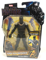 "ERIK KILLMONGER ( 6"") BRAND NEW MARVEL BLACK PANTHER MOVIE ACTION FIGURE - NEW!!"
