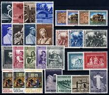 VATICAN . 1964 Commemoratives (375-403) Mint Never Hinged