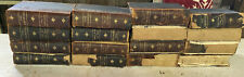 Antique 1903 THE AMERICANA  Leatherbound Encyclopedia Set by Scientific American