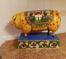 2004 Jim Shore Heartwood Creek Pig