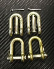 * Fordson Dexta & Super Dexta Tractor Check Chain D Shackles x 4 *